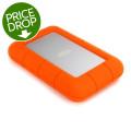 LaCie Rugged USB-C 2TB Portable Hard Drive