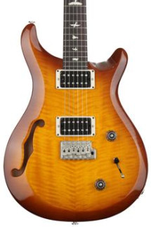 PRS S2 Custom 22 Semi-Hollow - Violin Amber Sunburst