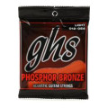 GHS S325 Phosphor Bronze Light Acoustic Guitar Strings
