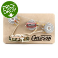 Emerson Custom 5-way Prewired Kit for Fender Stratocasters - 250k Pots