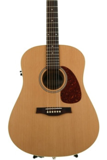 Seagull Guitars S6 Cedar Slim QI - Natural