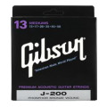 Gibson Accessories J-200 Phosphor Bronze Medium Acoustic Guitar StringsJ-200 Phosphor Bronze Medium Acoustic Guitar Strings