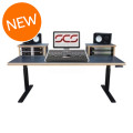Sound Construction SCS Elevation Workstation 4x2 Studio Desk - Oak