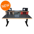 Sound Construction SCS Elevation Workstation 4x3 Studio Desk - Cherry