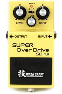 Boss SD-1W Waza Craft Super Overdrive Pedal