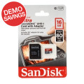 Sandisk Ultra microSDHC Card - 16GB, Class 10, UHS-I