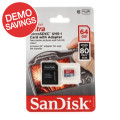 Sandisk Ultra microSDXC Card - 64GB, Class 10, UHS-I