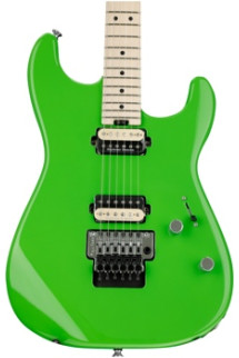Charvel Pro-Mod San Dimas Style 1 HH Floyd Rose - Slime Green