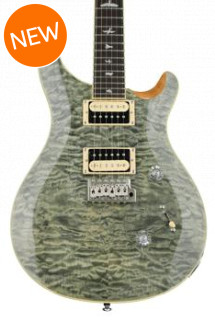 PRS SE Custom 24 Quilt Top - Trampas Green