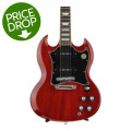 Gibson SG Standard P-90 2016, Traditional - Heritage Cherry, Chrome HardwareSG Standard P-90 2016, Traditional - Heritage Cherry, Chrome Hardware