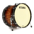 Tama Starclassic Maple Bass Drum - 18x24 - Satin Molten Brown BurstStarclassic Maple Bass Drum - 18x24 - Satin Molten Brown Burst