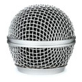 On-Stage Stands Steel Mesh Mic Grille - Steel GraySteel Mesh Mic Grille - Steel Gray