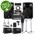 Yamaha StagePas 600i Portable PA System with Cases, Stands, and MicrophoneStagePas 600i Portable PA System with Cases, Stands, and Microphone