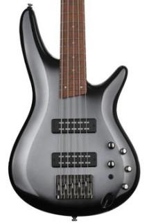 Ibanez SR305E SR Standard 5-String - Metallic Silver Sunburst