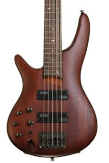 Ibanez SR505 5-String Left-Handed - Brown Mahogany