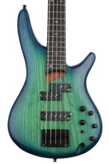 Ibanez SR655 5-string - Surreal Blue Burst