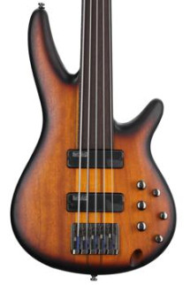 Ibanez Workshop SRF705 - Brown Burst Flat, Fretless