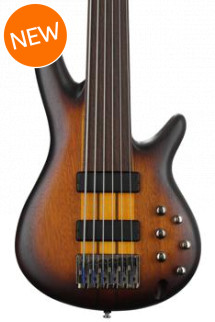 Ibanez SRF706 - Brown Burst Flat
