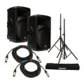 Mackie SRM450 Package - w/Stands and CablesSRM450 Package - w/Stands and Cables
