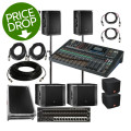 JBL SRX800 Complete PA Package with Soundcraft Mixer and Stage BoxSRX800 Complete PA Package with Soundcraft Mixer and Stage Box