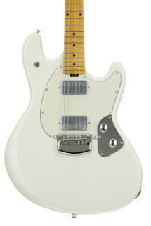Ernie Ball Music Man StingRay Guitar - Ivory White