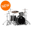 Mapex Saturn V MH Exotic 3-piece Shell Pack - Flat Black Maple BurlSaturn V MH Exotic 3-piece Shell Pack - Flat Black Maple Burl