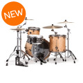 Mapex Saturn V MH Exotic 3-piece Shell Pack - Natural Maple BurlSaturn V MH Exotic 3-piece Shell Pack - Natural Maple Burl
