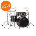 Mapex Saturn V MH Exotic 4-piece Shell Pack - Flat Black Maple BurlSaturn V MH Exotic 4-piece Shell Pack - Flat Black Maple Burl