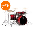 Mapex Saturn V MH Exotic 4-piece Shell Pack - Cherry Mist Maple BurlSaturn V MH Exotic 4-piece Shell Pack - Cherry Mist Maple Burl