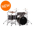 Mapex Saturn V MH Exotic 5-piece Shell Pack - Flat Black Maple BurlSaturn V MH Exotic 5-piece Shell Pack - Flat Black Maple Burl