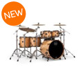Mapex Saturn V MH Exotic 5-piece Shell Pack - Natural Maple BurlSaturn V MH Exotic 5-piece Shell Pack - Natural Maple Burl