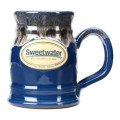 Sweetwater Tankard Mug - Federal Blue with Sand WhiteTankard Mug - Federal Blue with Sand White