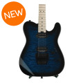 Charvel Pro-Mod San Dimas Style 2 HH Floyd Rose - Trans Blue Burst with Maple Fingerboard