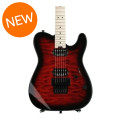 Charvel Pro-Mod San Dimas Style 2 HH Floyd Rose - Trans Red Burst with Maple Fingerboard