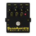 Tech 21 SansAmp GT2 Tube Amp Emulator PedalSansAmp GT2 Tube Amp Emulator Pedal