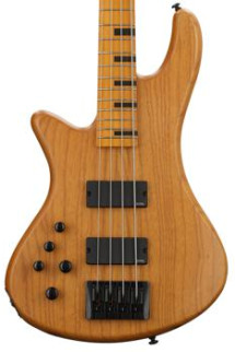 Schecter Stiletto Session 4-string Bass Aged Natural Satin Left Hand