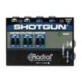 Radial Shotgun 4-channel Amp DriverShotgun 4-channel Amp Driver