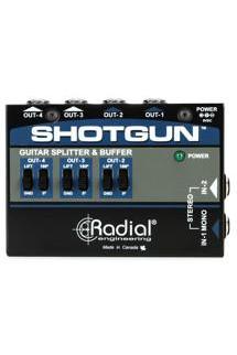 Radial Shotgun 4-channel Amp Driver