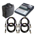 Soundcraft Signature 10 Mixer Package with Case and Cables