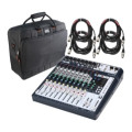 Soundcraft Signature 12 Mixer with Case and Cables