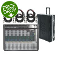 Soundcraft Signature22 MTK Mixer with Case and CablesSignature22 MTK Mixer with Case and Cables