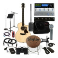 Sweetwater Singer/Songwriter Dream Package Deluxe - Includes GuitarSinger/Songwriter Dream Package Deluxe - Includes Guitar