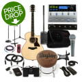 Sweetwater Singer/Songwriter Dream Package Deluxe - Includes Guitar