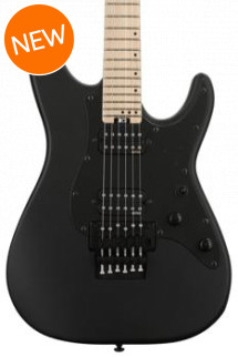 Schecter Sun Valley SS with Floyd Rose - Satin Black