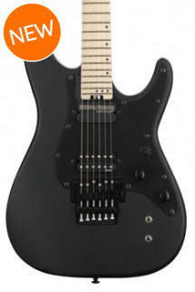 Schecter Sun Valley SS with Floyd Rose and Sustaniac - Satin Black