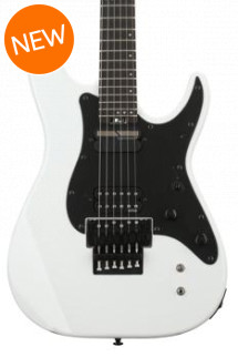 Schecter Sun Valley SS with Floyd Rose and Sustaniac - White