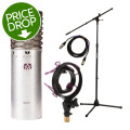 Aston Microphones Spirit Mic with Rycote Shockmount, Stand, and Cable