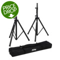 On-Stage Stands All-Aluminum Speaker Stand Pack w/BagAll-Aluminum Speaker Stand Pack w/Bag