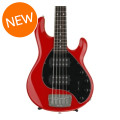 Ernie Ball Music Man StingRay 5HH, Sweetwater Exclusive - Chili Red with Rosewood Fingerboard