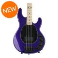 Ernie Ball Music Man StingRay 4 H 3-EQ - Firemist Purple, Maple Fingerboard